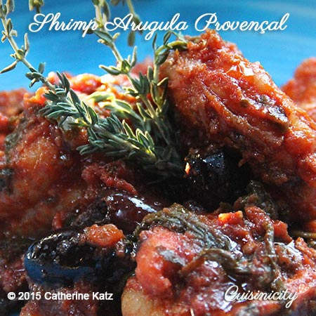 Shrimp-Arugula-Provencal