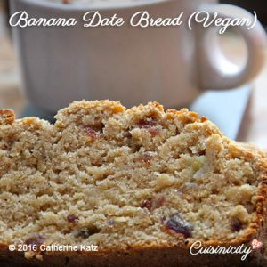 Vegan Banana Date Bread-Feature Photo