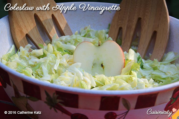 Coleslaw with Apple Vinaigrette