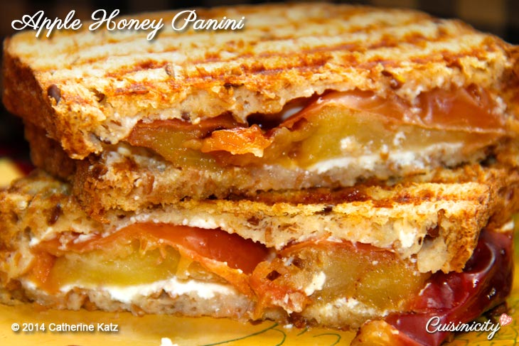 Apple Honey Panini