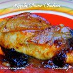 Apple Prune Chicken
