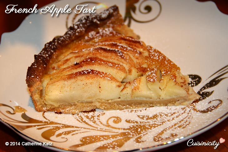 French Apple Tart Cuisinicity