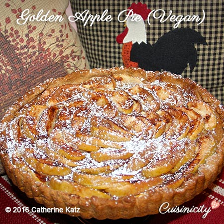 Vegan Golden Apple Pie