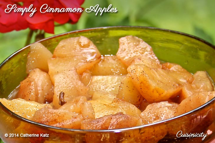 Simply Cinnamon Apples