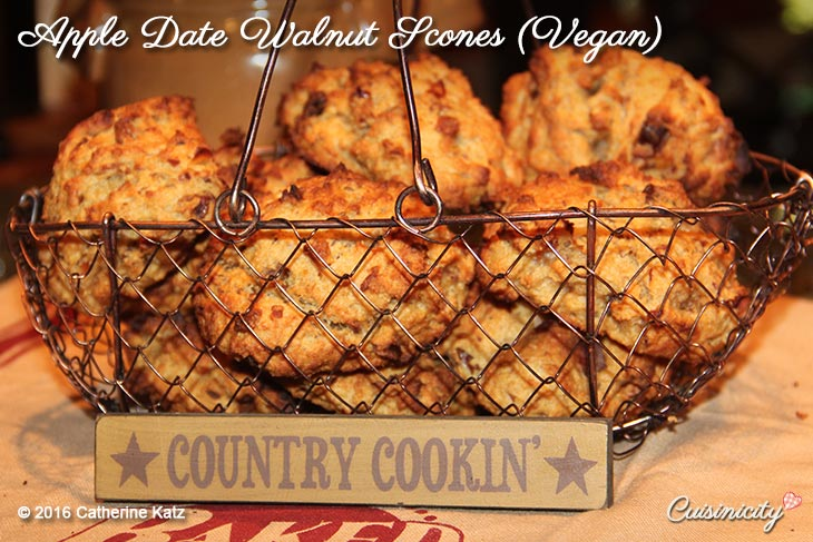 Apple-Date-Walnut-Scones-(Vegan)-Recipe-Photo-Copyright-CKatz