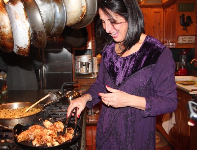Cuisinicity Renaissance - Catherine cooking turkish-christmas-dinner